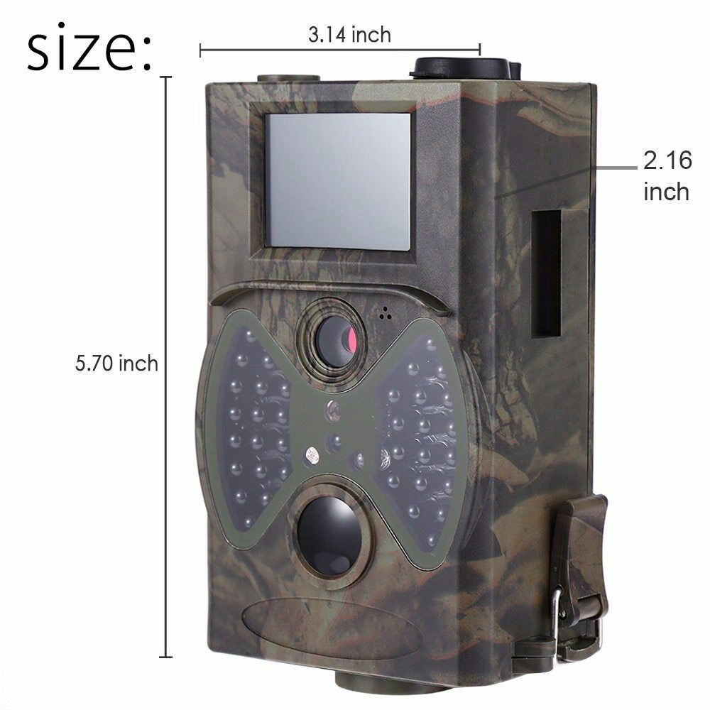 Wildlife Hunting Camera HC300A 12MP 1080P 940NM Trail Wireless IR Scouting Camer