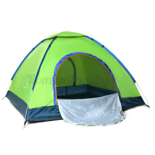 3-4 Person Outdoor Camping Waterproof Family Tent 4 Season Hiking Folding