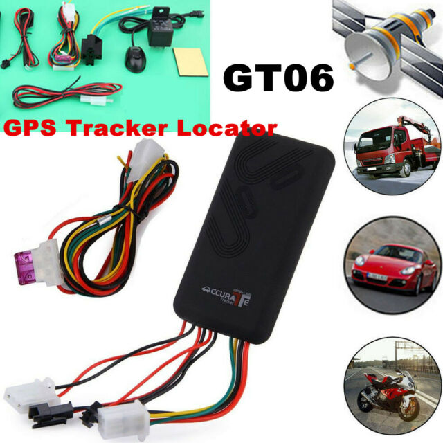 GT06 Vehicle Tracker Locator Anti-theft GPS GSM GPRS SMS Tracking Alarm HS1