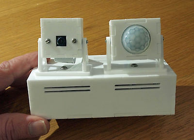 Camera and Motion Sensor Enclosure / Case Raspberry Pi Model 2 B / Model