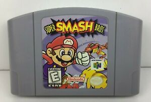Super-Smash-Bros-Nintendo-64-N64-Game-Tested-Working-ORIGINAL-AUTHENTIC