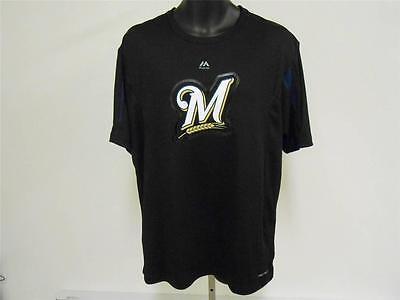 Fanartikel Neu Milwaukee Brewers Erwachsene Herren Large L Coolbase Shirt Von Majestätisch Wohltuend FüR Das Sperma Sport