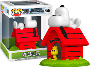 FUNKO POP! DELUXE EDITION -PREO SNOOPY AND WOODSTOCK WITH DOGHOUSE PEANUTS