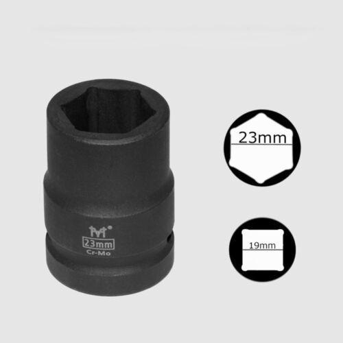 "3//4/"" Drive Heavy Duty Socket 17-42mm 6 Point Hex Nut Bolt Impact Wrench  Cr-Mo"