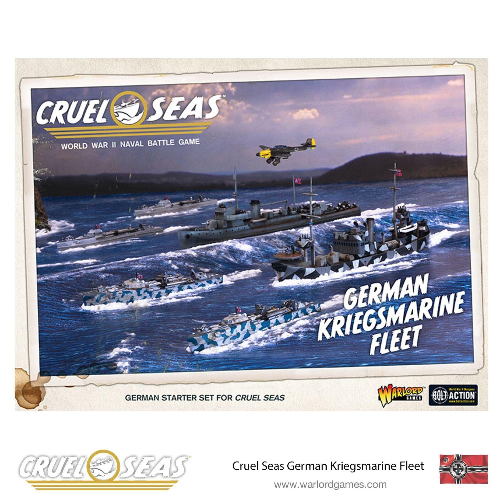 Warlord Juegos Nuevo Y En Caja cruel mares Alemán Kriegsmarine flota WGC-782612001