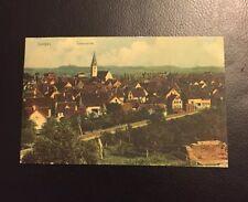 Postkarte Saulgau Totalansicht 1905