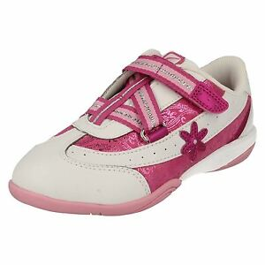Clarks rosa Diva Trainer Blanco Niñas Cica Daisy 5wq654f