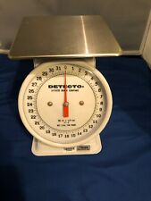 Capacity Detecto T5 Top Loading Dial Scale 5 lb