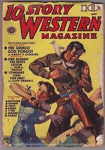 10-Story-Western-May-1939-Pulp-Harry-Sinclair-Drago-Ray-Nafziger-Ralph-Berard