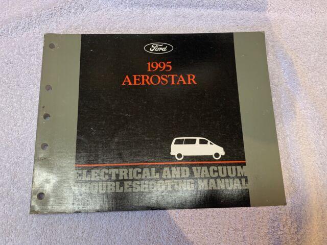 1995 Ford Aerostar Electrical Vacuum Diagram And Wiring