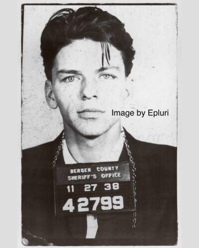 Frank Sinatra Mug Shot Photo in Jail Arrested for Seduction 8 X 10 Photo Print