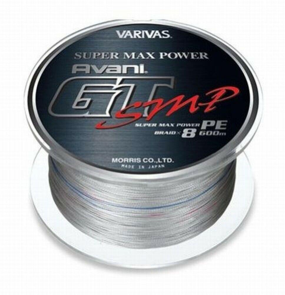 Morris Pe Line Varivas Avani Gt SMP Super Max Power 600m 8 54.5kg