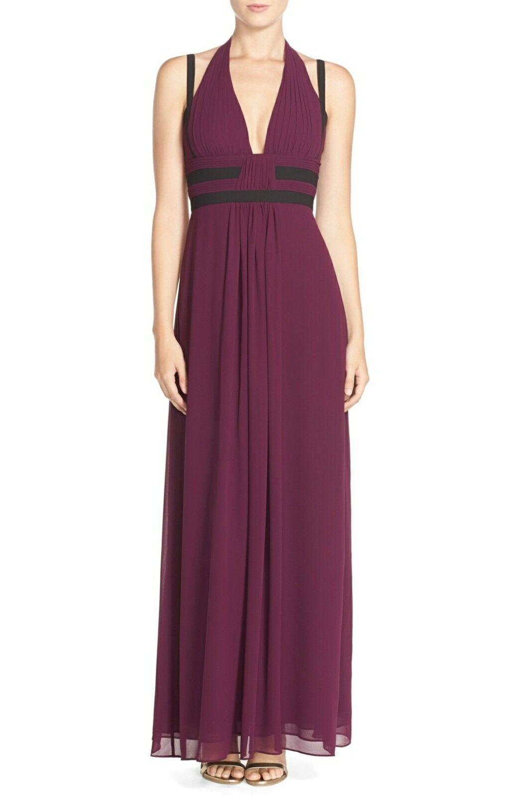 BCBG MAX AZRIA Magarette Gown Größe 0