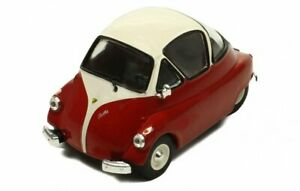 ISO Isetta - 1955 - red / white - IXO 1:43