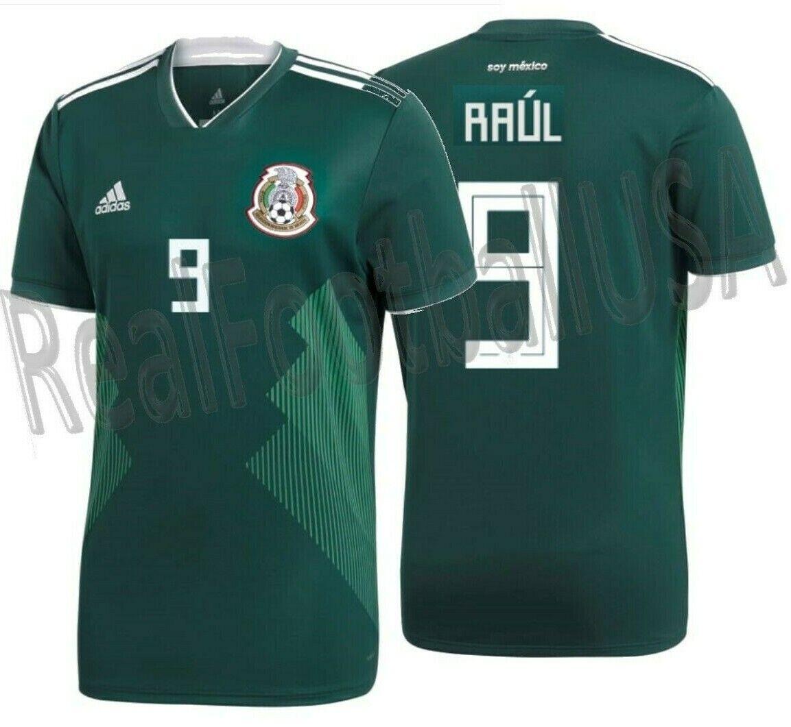 Adidas Raul Jiménez México Home Jersey Copa Del Mundo 2018
