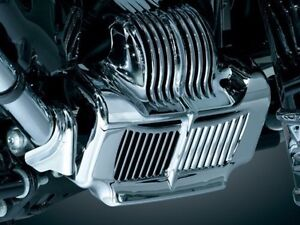 Motorcycle Chrome Stock Oil Cooler Cover For Harley Touring Models 2011-2015 Automobiles & Motorcycles