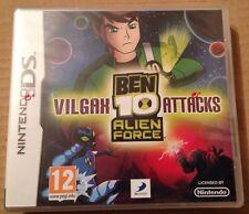 Ben 10 Alien Force Vilgax Attacks Game Ds Dsi Ds Lite 3Ds Nintendo NEW & SEALED!