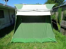 Vintage Coleman Oasis Canvas Wall Tent 10u0027 x 8u0027 C&ing & Vintage 60s Coleman Canvas Springbar 2 Person 7.5u0027x5u0027 Camping Tent ...