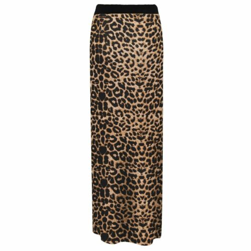 Women Ladies Jersey Long Printed Maxi Skirt Gypsy Stretchy Skirt Plus Size 8-22