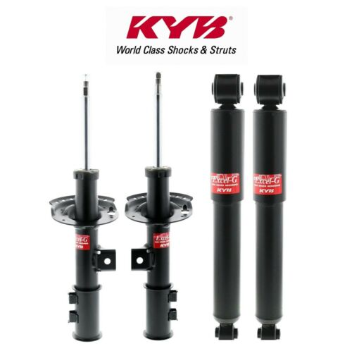 KYB Front Suspension Struts /& Rear Shock Absorbers Kit For Hyundai Elantra Coupe