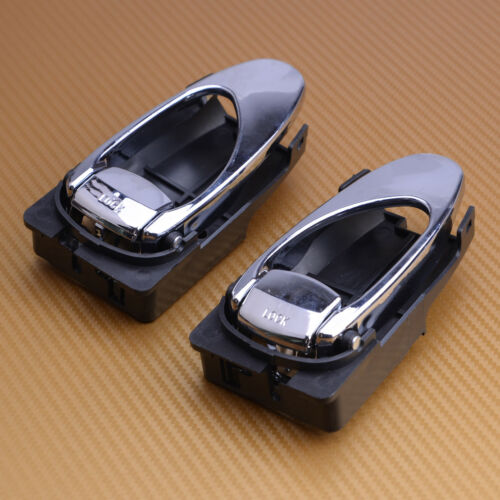 For Daewoo Leganza 1997-2002 Inside Interior Inner Door Handle Left Silver