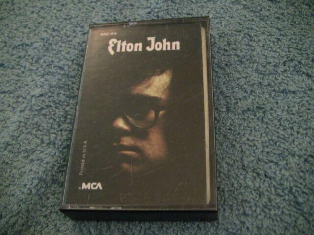 ELTON JOHN ~ SELF TITLED S/T ~ CASSETTE TAPE