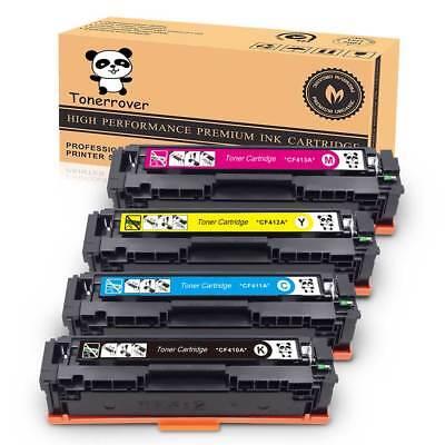 4PK CF410A 477A Black Color Toner Cartridge For HP Laserjet M452dw MFP M477fnw