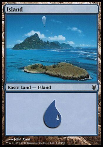 4x Island 140 Magic MTG Archenemy VO Île
