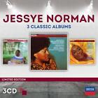 Jessye Norman-3 Classic Albums (Ltd.Edt.) von Lso,Norman,DAVIS,GOL,Masur (2014)
