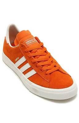 Men's Adidas Campus Vulc Ii Orange, Black & White Shoes Gold