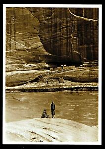 982-Postcard-039-Alone-with-the-Past-039-Navajo-Photo-by-Roland-Reed-1913-NEW