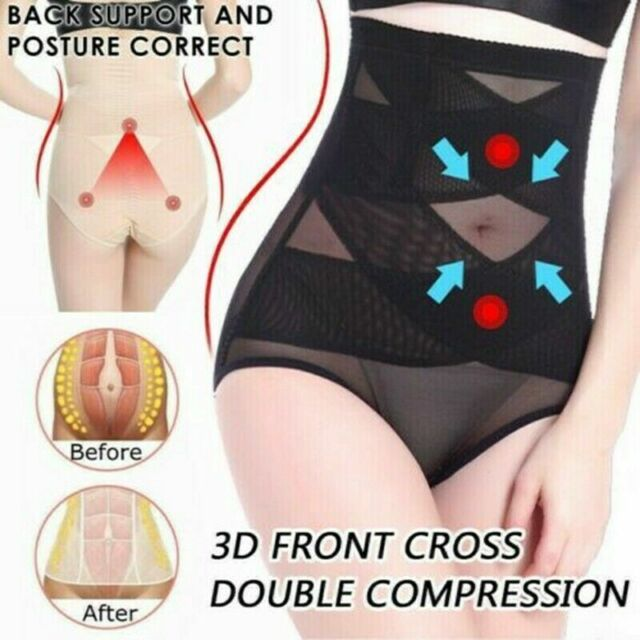 38f346284ef33 Women High Waist Shapewear Slimming Control Briefs Underwear Tummy Tuck Bum  Pant