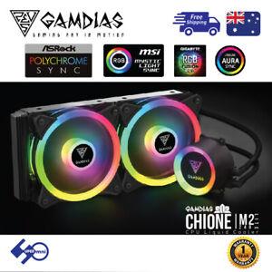 Gaming-PC-Computer-CPU-Liquid-Cooler-240mm-Addressable-RGB-CHIONE-M2-240-LITE