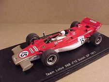 Spark 1/43 Resin Team Lotus 56B, 1971 Dutch GP, Shell, #15, Walker  #S1764