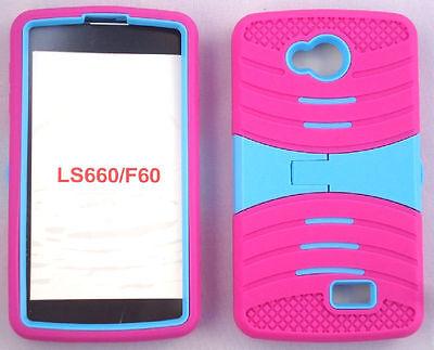 LG Optimus F60 / Tribute LS660 / MS395 / Transpyre VS810PP Rugged Phone Case