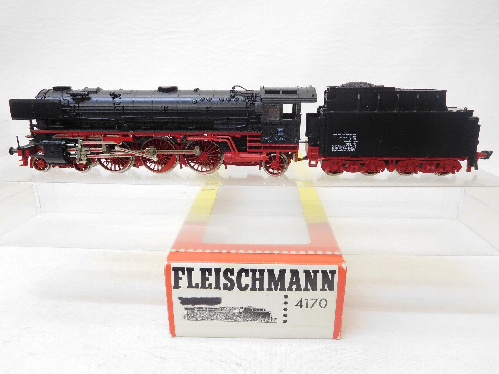 MES-53792 Fleischmann 4170 H0 Dampflok DB 01 220 sehr guter Zustand    Düsseldorf Eröffnung