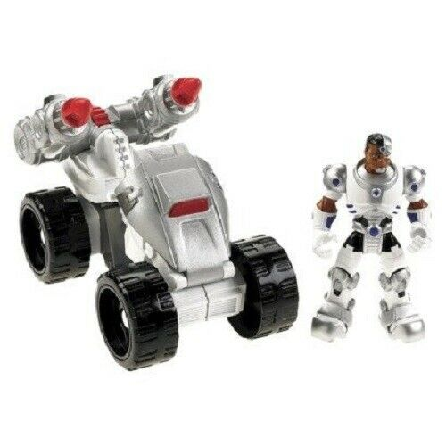 Fisher-Price Hero World DC Super Friends Cyborg and ATV NIB