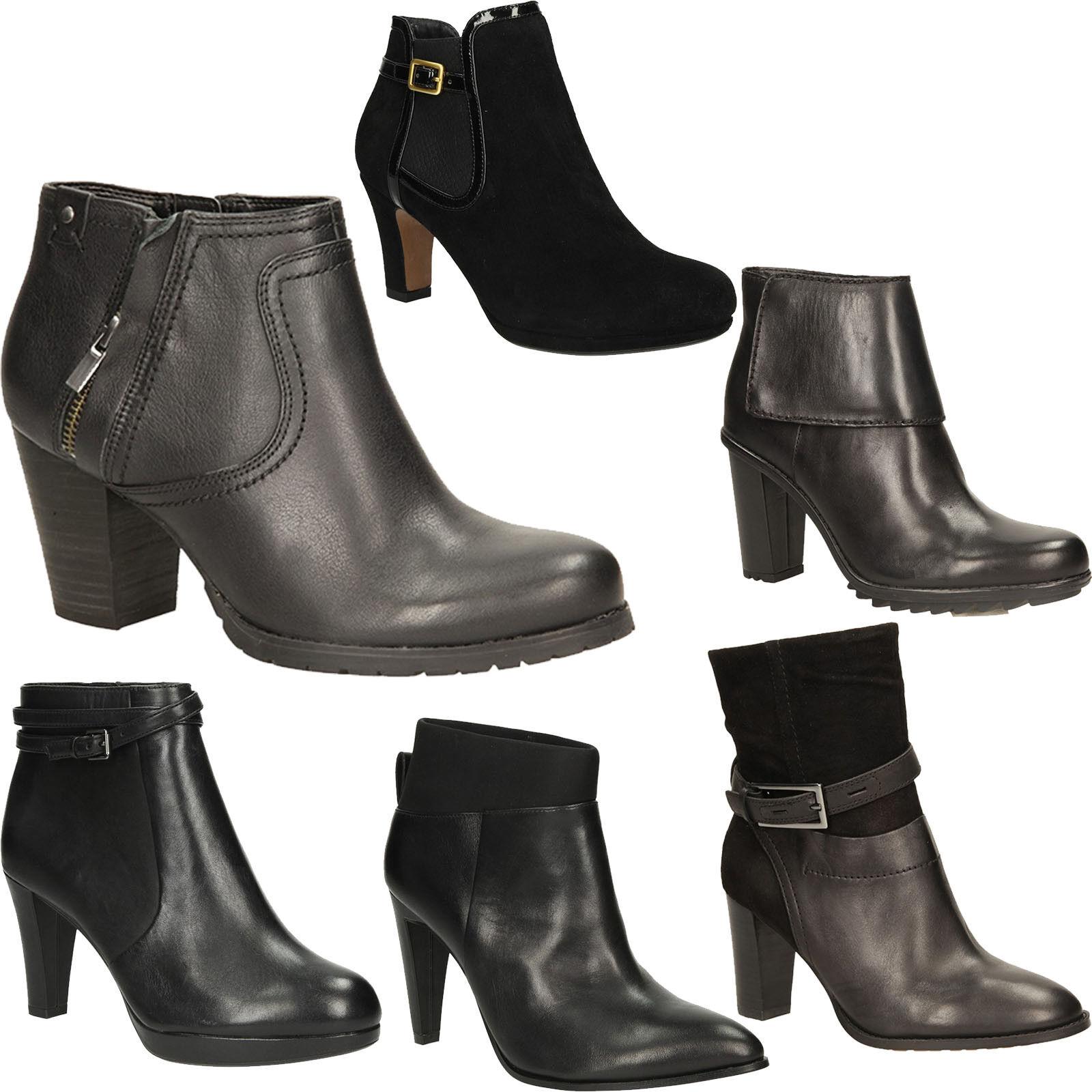 Señora botas Clarks zapato bajo mocasines cremallera cremallera cremallera a la moda talla 36-41 nuevo  con 60% de descuento
