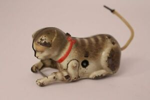 Gkn-Kohler-Cat-Tin-Toy-Antique-Toy-Replacement-Part-US-Zone-Germany