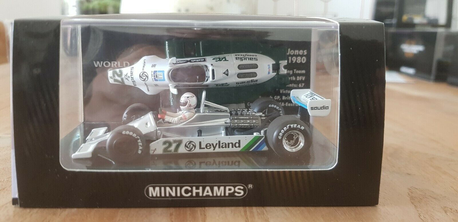 Minichamps -  Alan Jones - Williams - FW07B - 1980 - World Champion - 1 43