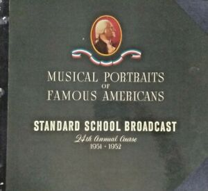 Radio-Transcription-Disc-LOT-5-Standard-School-Broadcast-Records-1950-1951