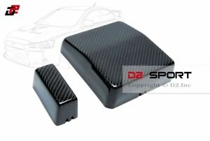 image is loading carbon-fiber-engine-bay-fuse-box-covers-2-
