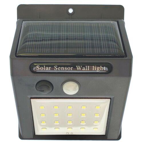 eFamily Solar Lights Outdoor 4-Pack USA Wall Mounted Wireless Motion Sensor