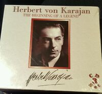 Herbert Von Karajan The Beginning Of A Legend (box Set) 3 Cd Digital Recordings