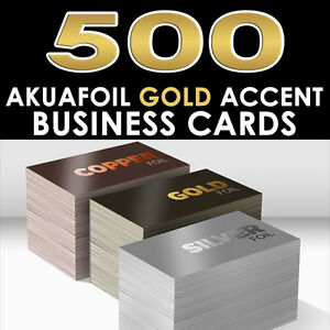 Personalized gold foil accent 500 full color glossy akuafoil image is loading personalized gold foil accent 500 full color glossy reheart Choice Image