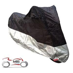 Motorhart-140-H2Out-Impermeable-Motocicleta-Ligera-Funda-de-Bicicleta-Plata