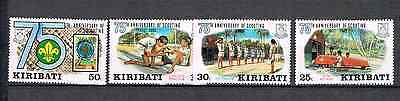 Kiribati 1982 Satz 408/11 Pfadfinder/scouting Postfrisch Sonstige