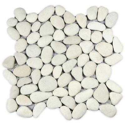 White Pebble Tile 12 X River