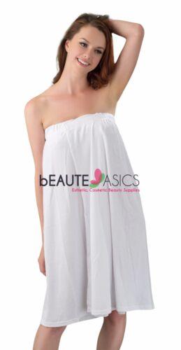 AG12 x1 Terry para Mujer Baño De Salón Facial Spa Body Wrap Vestido De Tela no-Pilling