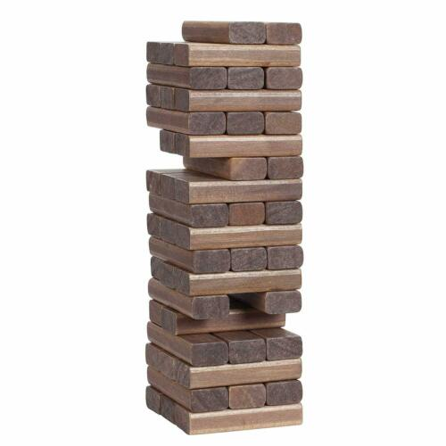 """Giant  Game tower Yard Large Wood Block Picnic Party Pool Play Tower Lawn  12/"""""""
